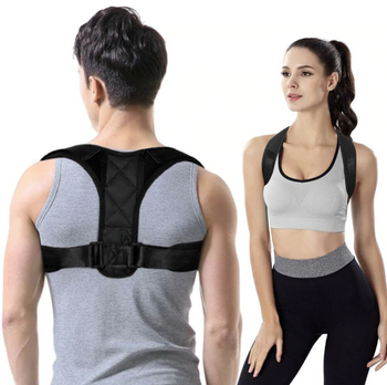 YRest™ Adjustable Back Brace Posture Corrector Shoulder Fixer Strap Body Wellness Pain Relief Support