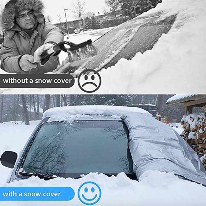 Outdoor Travel Car Sunshade SUV Magnet Windshield Cover for Sun Snow Ice Winter Frost Guard Protector