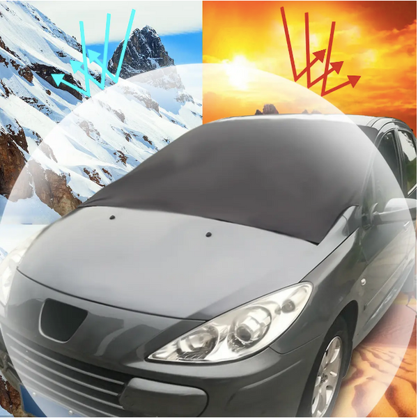 gShield™ Outdoor Travel Car Sunshade SUV Magnet Windshield Cover Sun Shield Snow Ice Sun Frost Portector