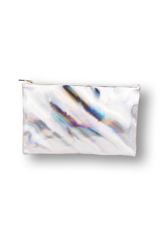 Hologram Silver Clutch