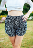 Culotte Shorts With Floral Print