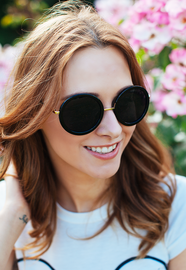 Retro Inspired 90's Oversized Round Sunglasses