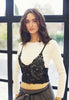 Top With Crochet Lace Bralet