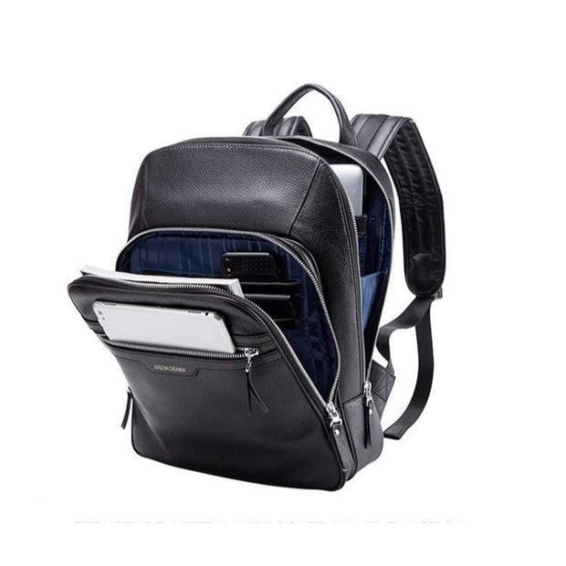 14 Inch Genuine Leather Laptop Bag For Men-Sevenedge Perfect Gifts