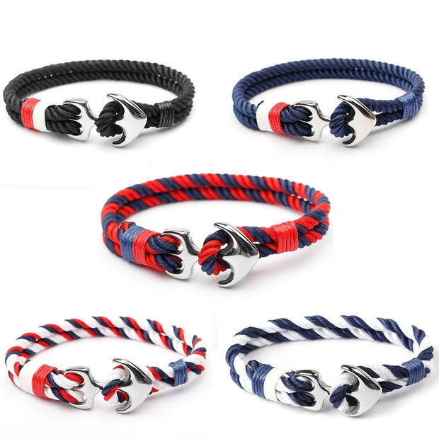 Anchor Rope Bracelet-Sevenedge Perfect Gifts