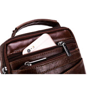Authentic Leather Sling Tote For Men-Sevenedge Perfect Gifts