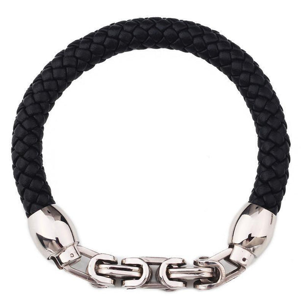 Braided Rope Leather Bracelet For Men-Sevenedge Perfect Gifts