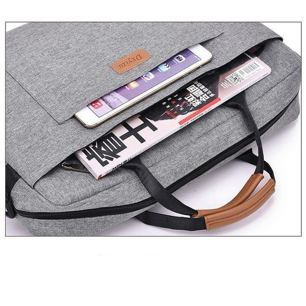 Canvas Crossbody Business Bag-Sevenedge Perfect Gifts