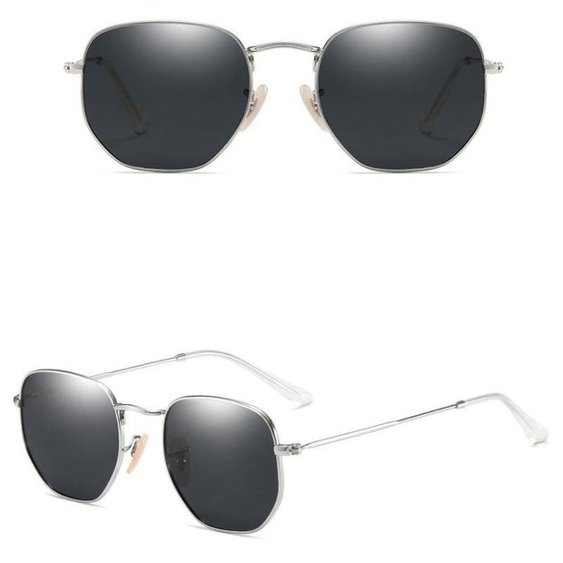 Classic Retro Round Metal Frame Sunglasses-Sevenedge Perfect Gifts