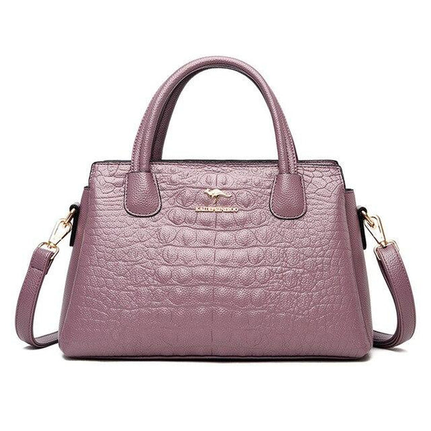 Crocodile Pattern Luxury Handbags-Sevenedge Perfect Gifts