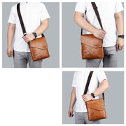 Crossbody Leather Bag For Men-Sevenedge Perfect Gifts