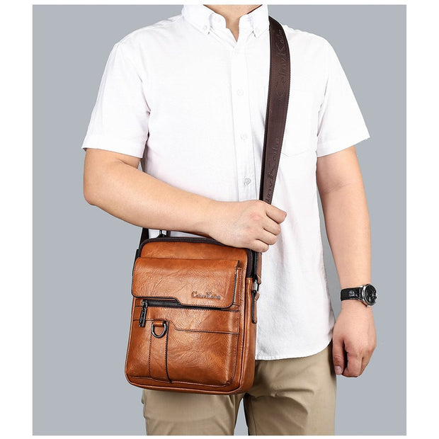 Crossbody Office Sling Bag For Men-Sevenedge Perfect Gifts