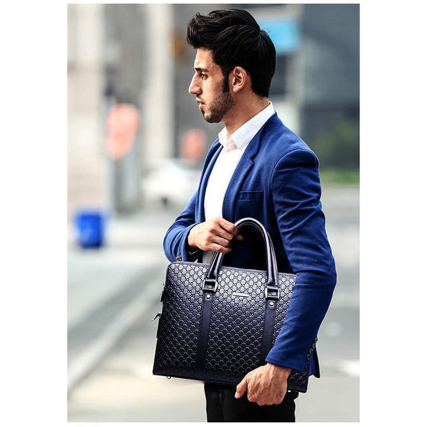 Double Layer Business Briefcase For Men-Sevenedge Perfect Gifts