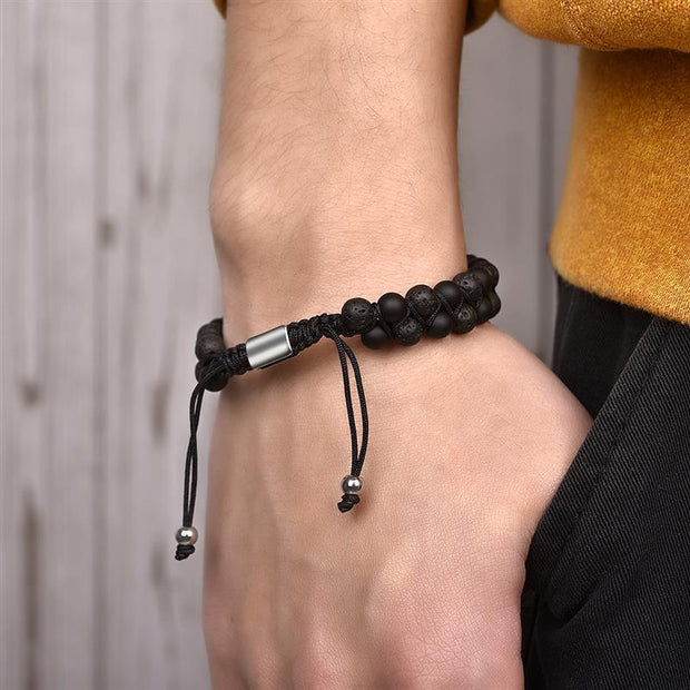 Double Layer Tie-Up Bracelet-Sevenedge Perfect Gifts