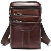 Genuine Leather Crossbody Messenger Bags For Men-Sevenedge Perfect Gifts