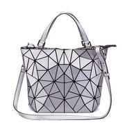 Geometric Pattern Metallic Handbag-Sevenedge Perfect Gifts