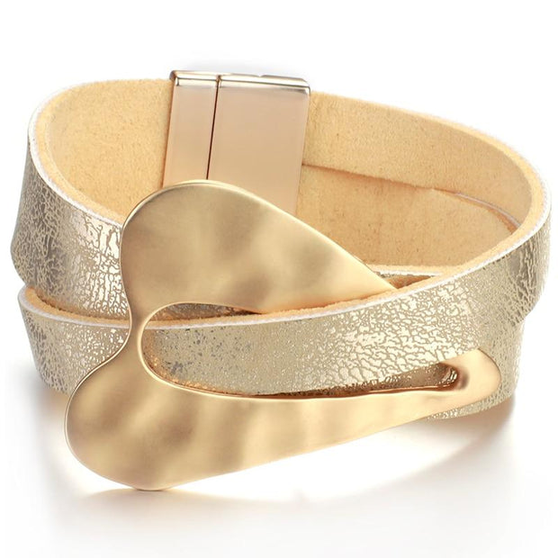 Heart Buckle Bracelet-Sevenedge Perfect Gifts