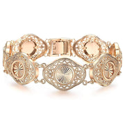 Intricate Gold-Finish Bracelet For Women-Sevenedge Perfect Gifts