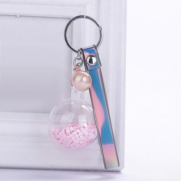 Keychain With A Dangling Ball-Sevenedge Perfect Gifts