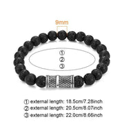 Lava Stone Beaded Bracelet-Sevenedge Perfect Gifts