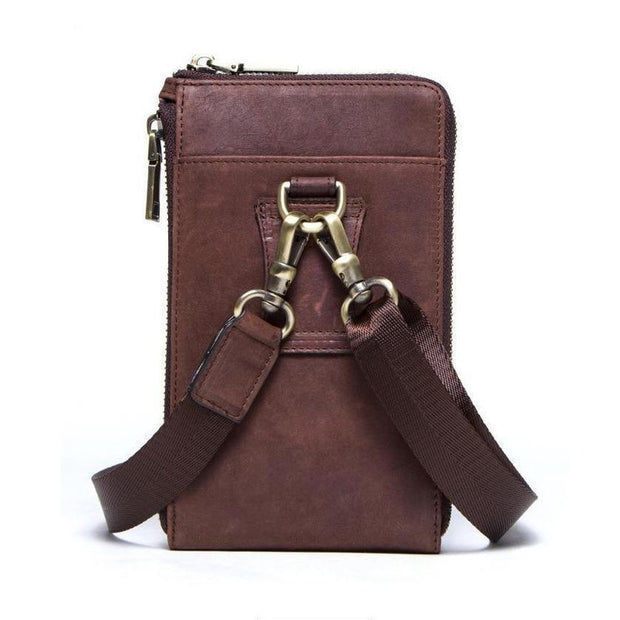 Leather Crossbody Bag-Sevenedge Perfect Gifts