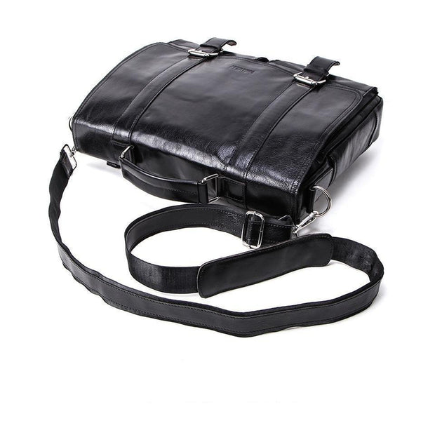 Leather Crossbody Briefcase For Men-Sevenedge Perfect Gifts