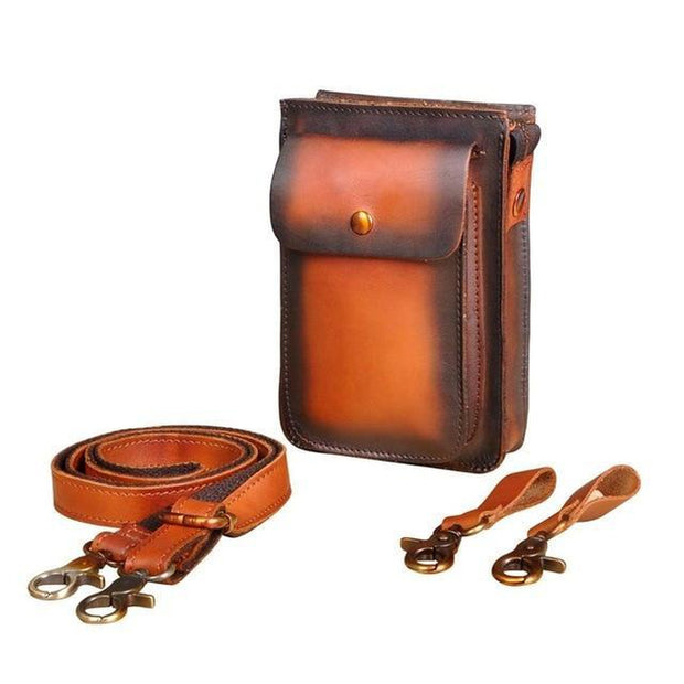 Leather Sling Bag-Sevenedge Perfect Gifts