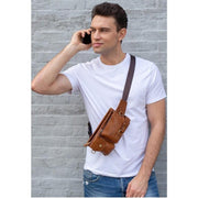 Leather Waist Bag-Sevenedge Perfect Gifts