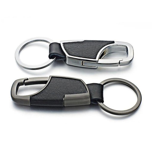 Leather Zinc Alloy Key Chains-Sevenedge Perfect Gifts