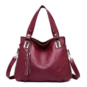 Luxe Leather Tote Messenger Bag-Sevenedge Perfect Gifts