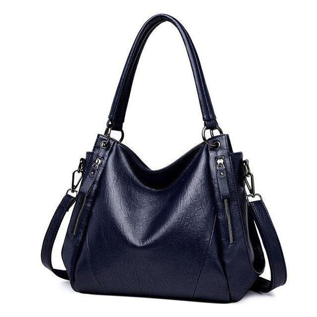 Luxuriously Leather Tote Handbag-Sevenedge Perfect Gifts