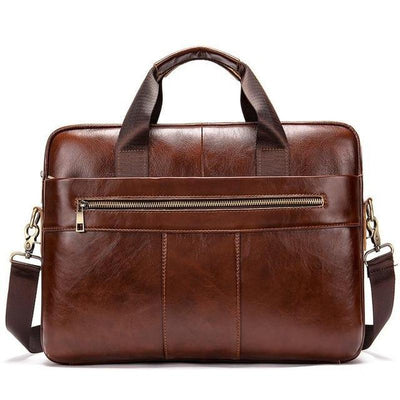 Men's Leather Briefcase Shoulder Bags-Sevenedge Perfect Gifts