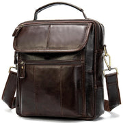 Men's Leather Handbag-Sevenedge Perfect Gifts