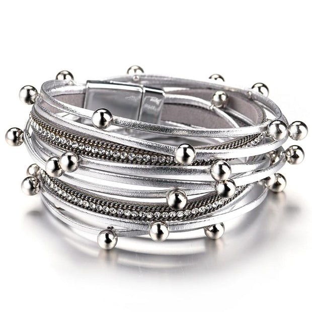 Metal Beads Bracelet-Sevenedge Perfect Gifts