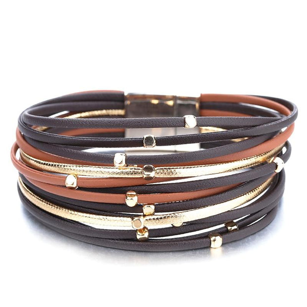 Metal Beads Multi-Layer Bracelet-Sevenedge Perfect Gifts