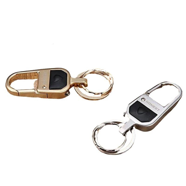 Metal & Leather Key Chain-Sevenedge Perfect Gifts