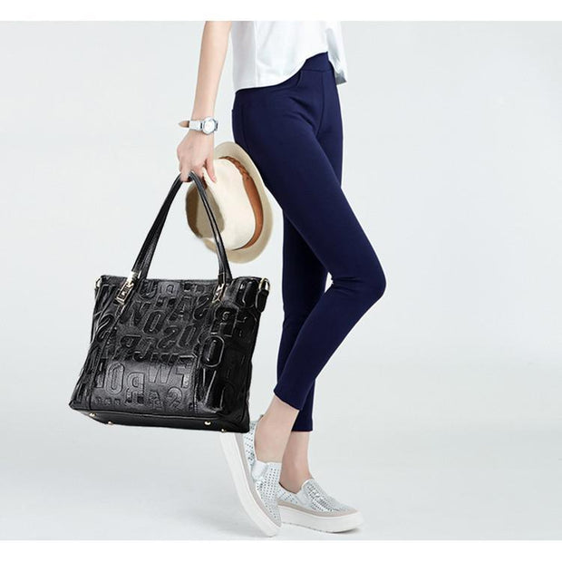 Natural Leather Luxury Female Shoulder Bag-Sevenedge Perfect Gifts