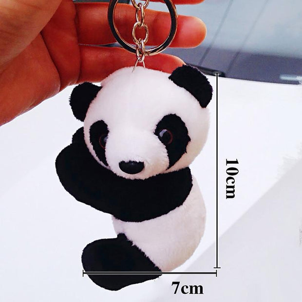 Plush Cute Panda Keychain-Sevenedge Perfect Gifts