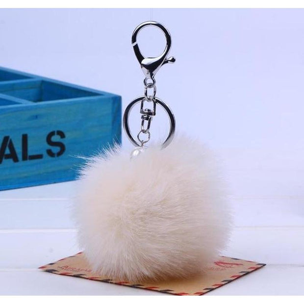 Pompom Key Chain-Sevenedge Perfect Gifts