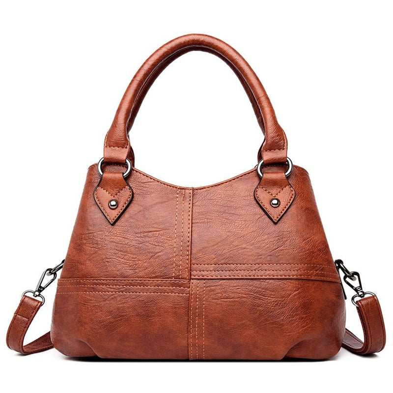 Posh Vintage Leather Tote-Sevenedge Perfect Gifts