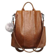 Ragged Vegan Leather Backpack For Women-Sevenedge Perfect Gifts