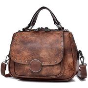 Retro Shoulder Leather Bag-Sevenedge Perfect Gifts