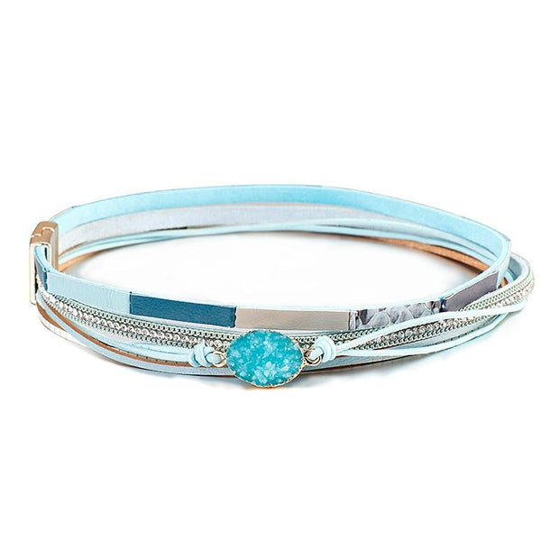 Rhinestone Multi-Layer Bracelet-Sevenedge Perfect Gifts