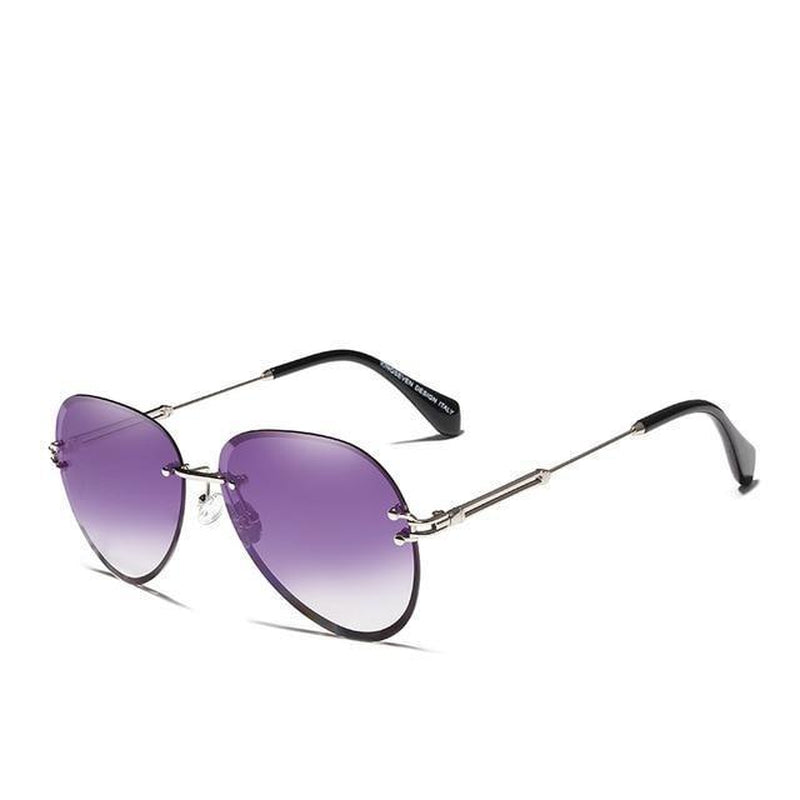 Rimless Vintage Fashion Sunglasses-Sevenedge Perfect Gifts