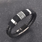 Rugged Leather Hook Bracelet-Sevenedge Perfect Gifts
