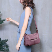 Shimmery Leather Shoulder Sling Bag-Sevenedge Perfect Gifts