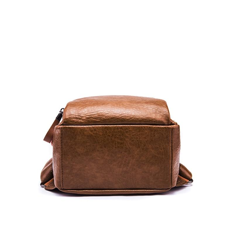 Simple Leather Backpack-Sevenedge Perfect Gifts