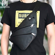 Single Shoulder Chest Bag For Men-Sevenedge Perfect Gifts