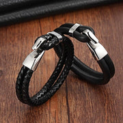 Single Strand Looping Leather Bracelet-Sevenedge Perfect Gifts