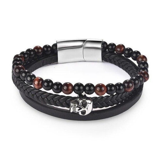 Skull Multi-layer Bracelet-Sevenedge Perfect Gifts